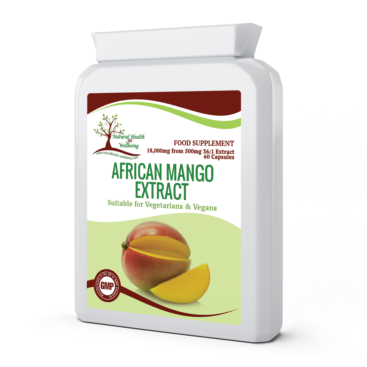 African Mango Extract 18000mg Natural Health Wellbeing